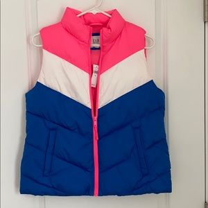 Gap puffer vest medium